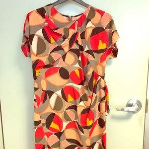 Marni women's geometric dress size 40 US 8